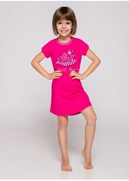 Сорочка детская 2093 19 Matylda малиновый
