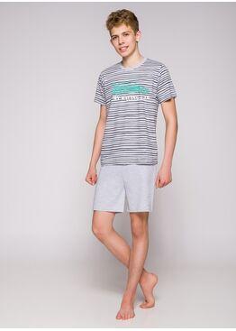 Пижама подростковая 344 19 Max серый