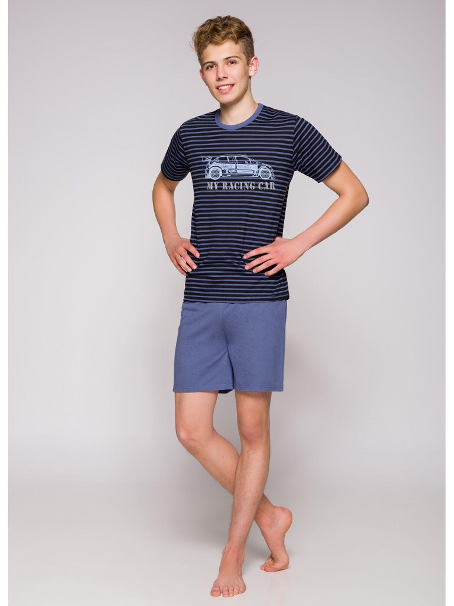 Пижама подростковая 344 19 Max синий