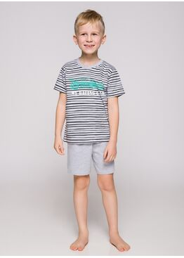 Пижама детская 390/391 19 Max серый