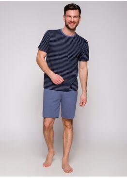 Пижама мужская 072 19 Max черный/синий