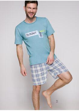 Пижама мужская 2086 19 Szymon голубой