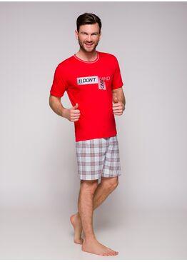Пижама мужская 2086 19 Szymon красный