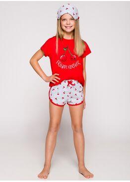 Пижама женская 2204/2205 19 Pia красный/серый