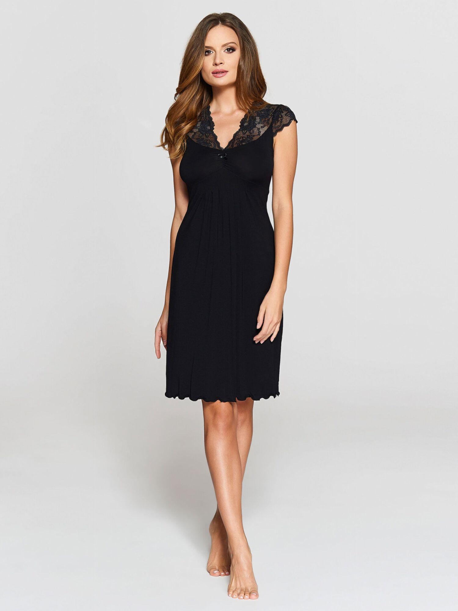 Сорочка женская IC 009 черный
