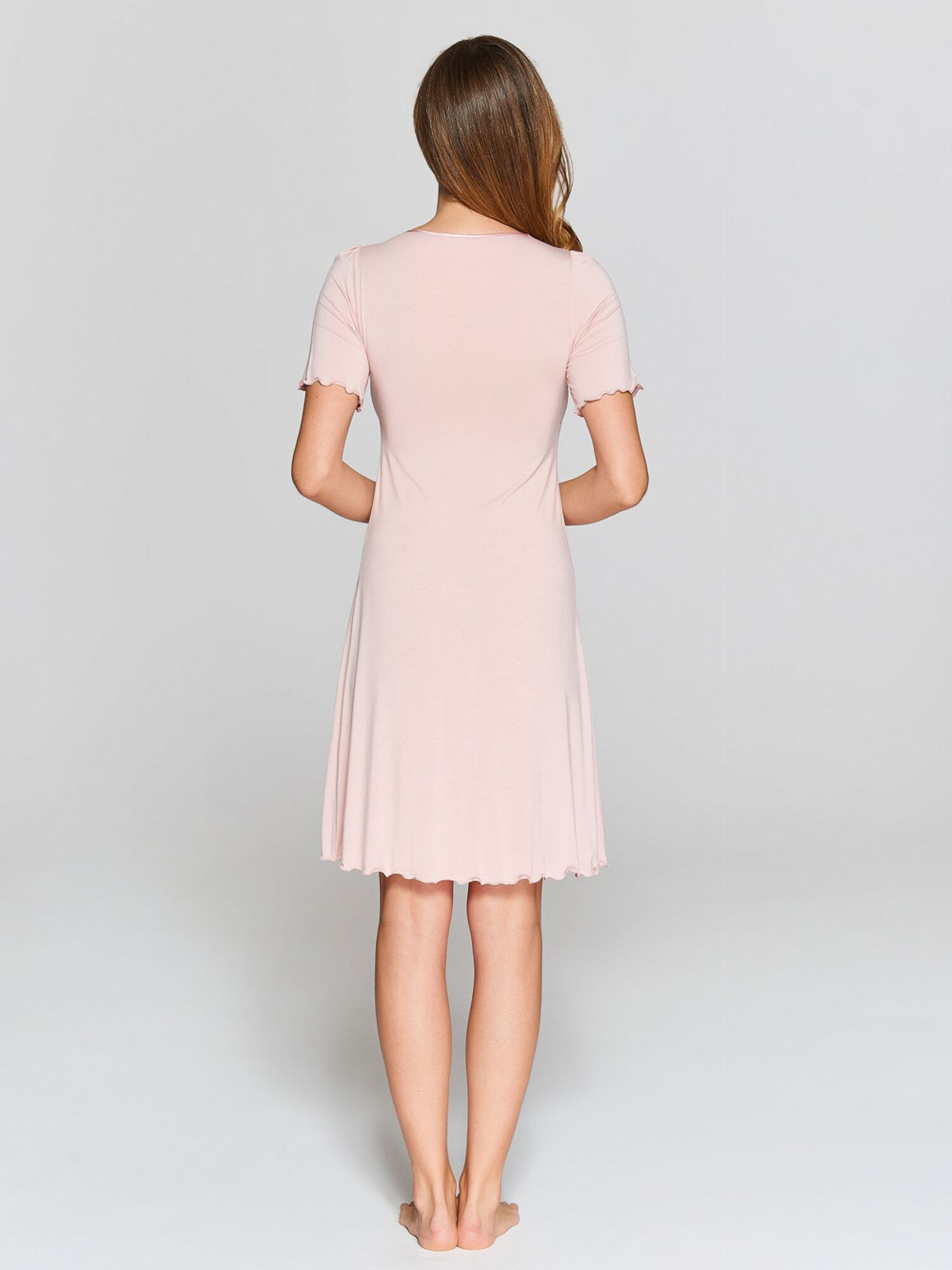 Сорочка женская IC 021 св.розовый