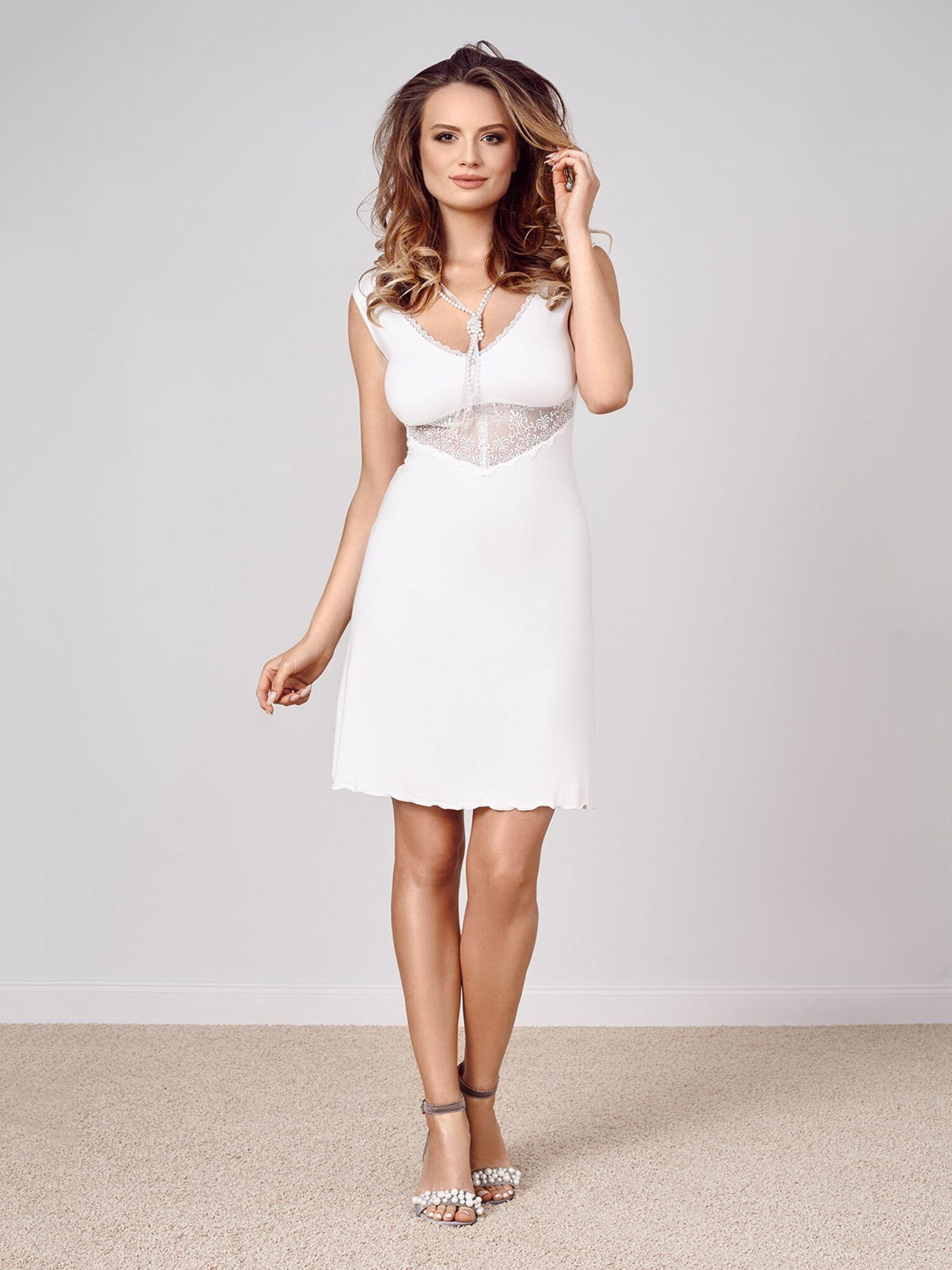 Сорочка женская IC 022 экрю