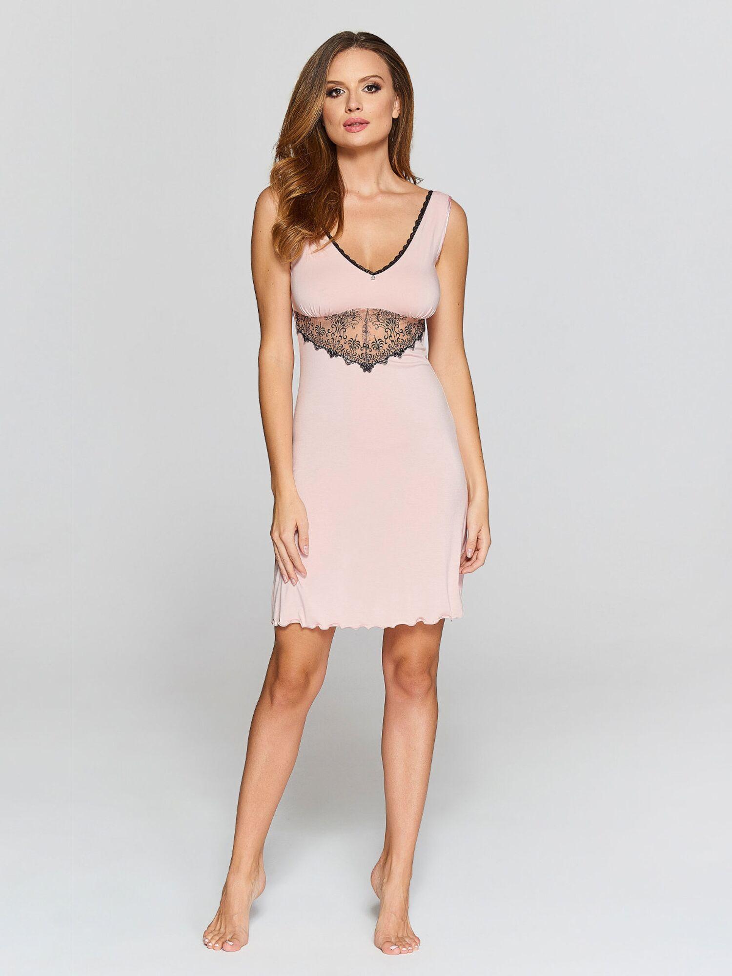 Сорочка женская IC 022 св.розовая