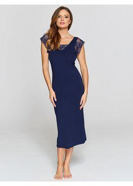 Сорочка женская IC 030 т.синий