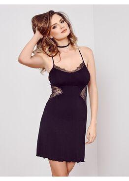 Сорочка женская IC 036 черный