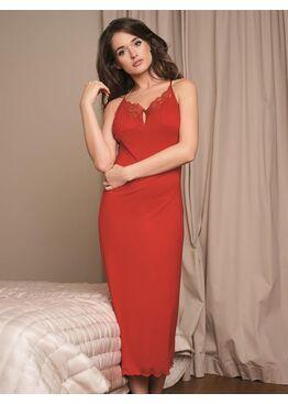 Сорочка женская 3017 красный
