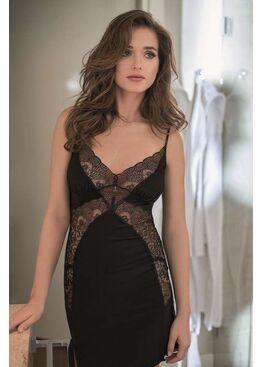 Сорочка женская 3019 черный