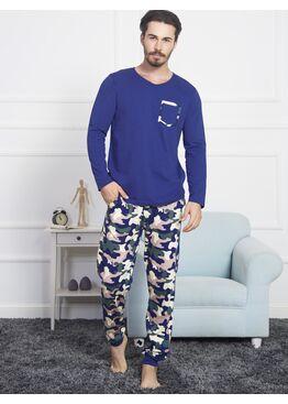 №804301 4094 Комплект мужской -Gazzaz с брюками на манжетах