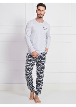 №905029 1494 Комплект мужской -Gazzaz с брюками на манжетах