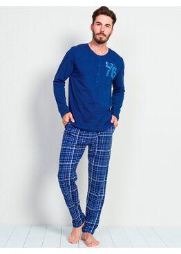 №905037 3120 Комплект мужской -Gazzaz с брюками синий