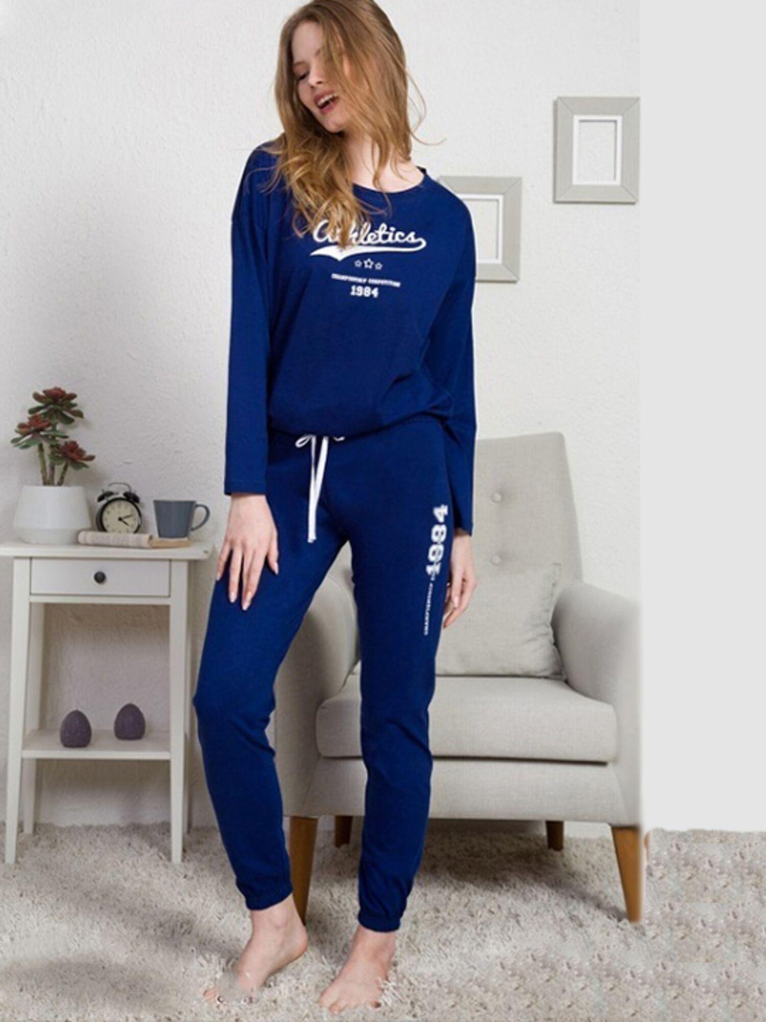 Комплект с брюками №003022 0000, синий, Vienetta