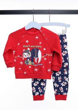 Детская пижама CLE 793526/НГ ленивец, Clever