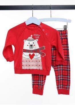 Детская пижама CLE 793526/НГ мишка, Clever