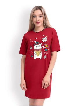 Платье-сорочка CLE LDR19-760 Тедди, Clever