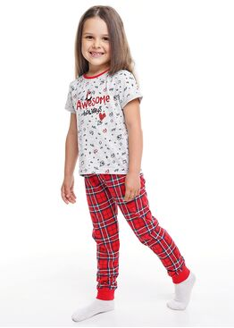 Пижама для девочки CLE 793515/НГ, Clever