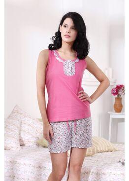Пижама 1409 Relax life розовый