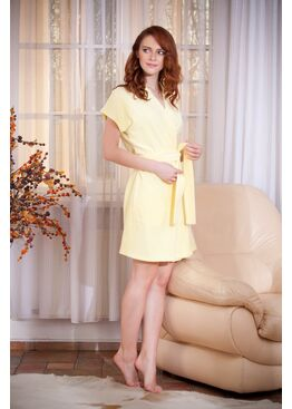 Халат 378 EASY желтый