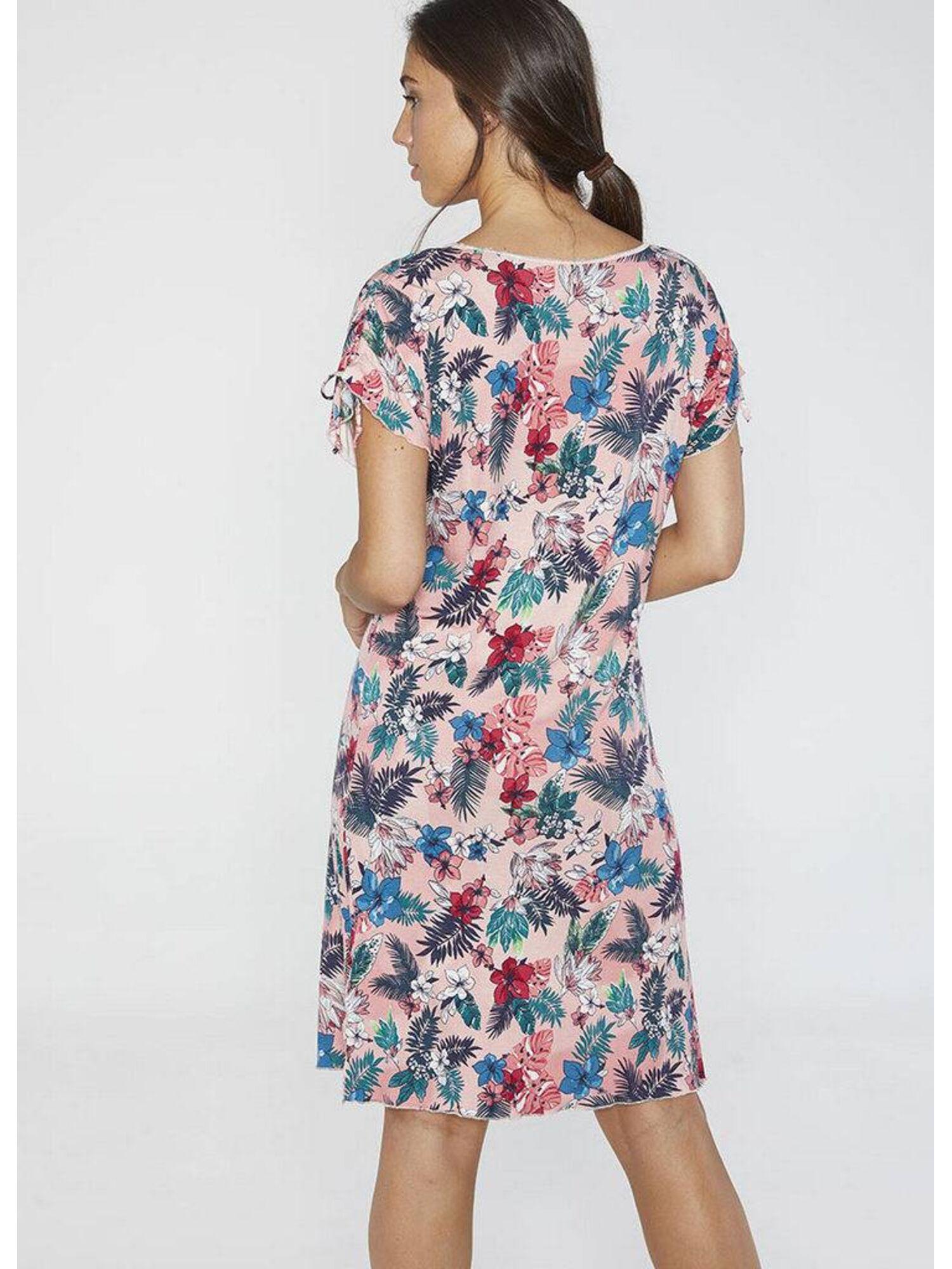 Женское платье пляжное из вискозы 85644 мульти, Ysabel Mora (Испания)