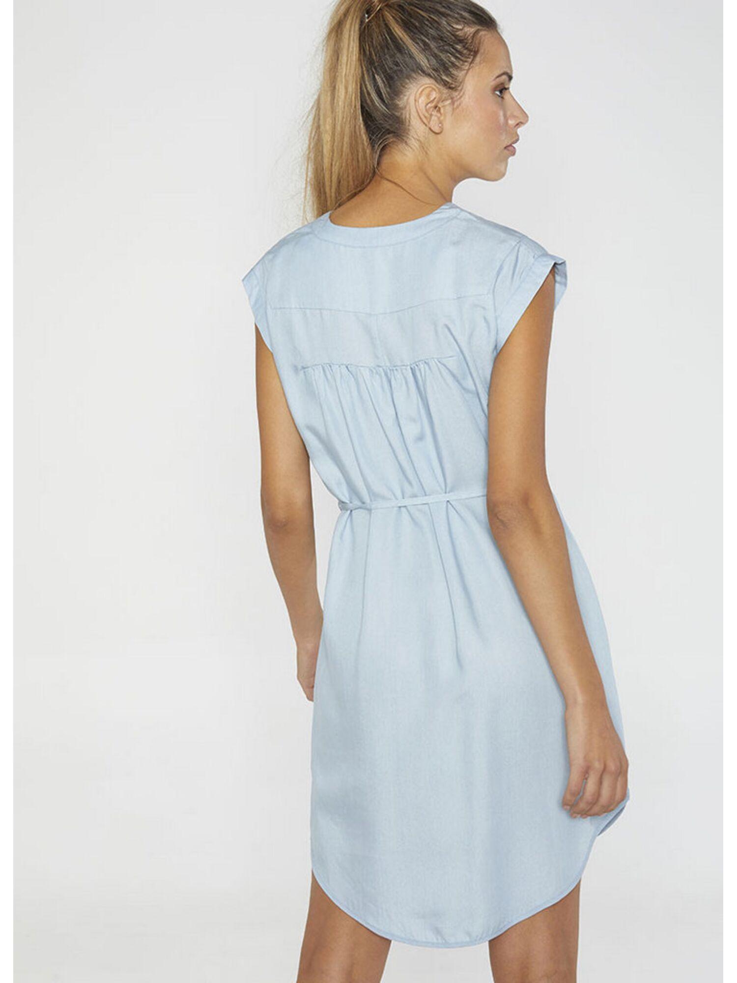 Женское платье пляжное 85698 голубой, Ysabel Mora (Испания)