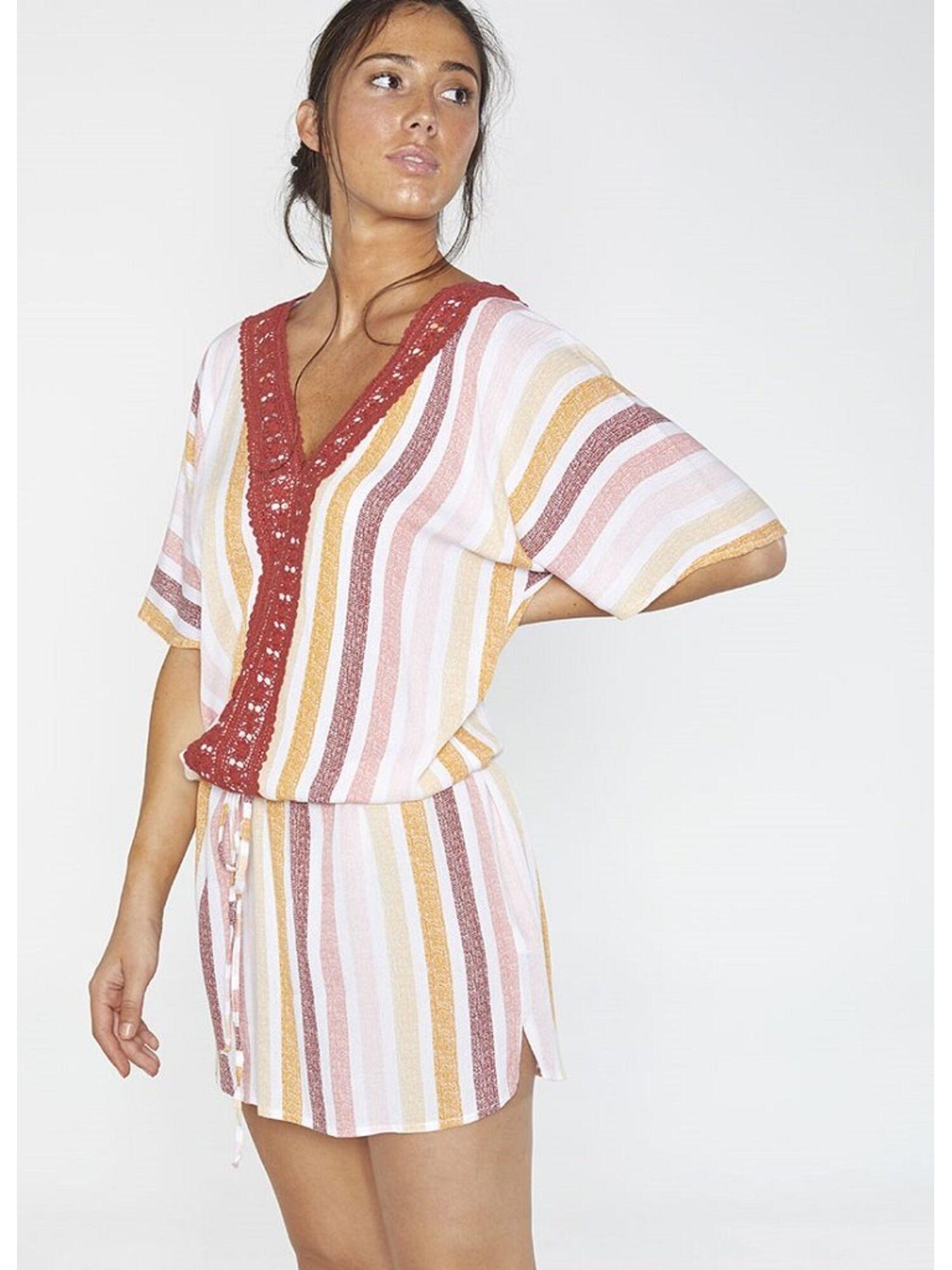 Женское платье пляжное из вискозы 85712 мульти, Ysabel Mora (Испания)