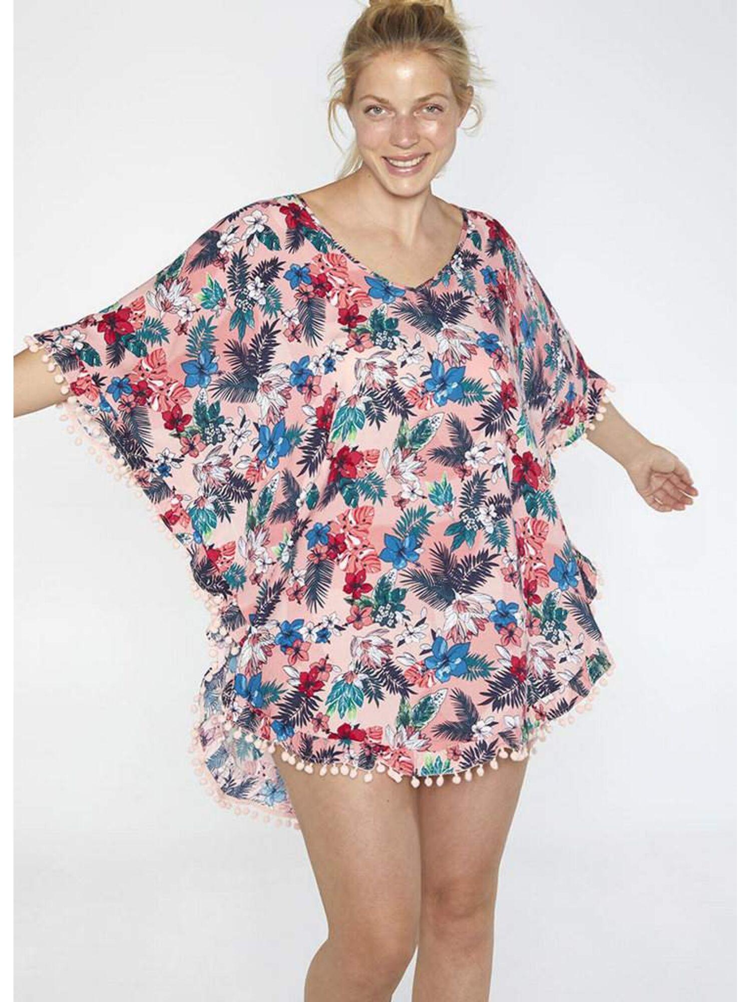 Женское платье-парео пляжное из вискозы 85642 мульти, Ysabel Mora (Испания)