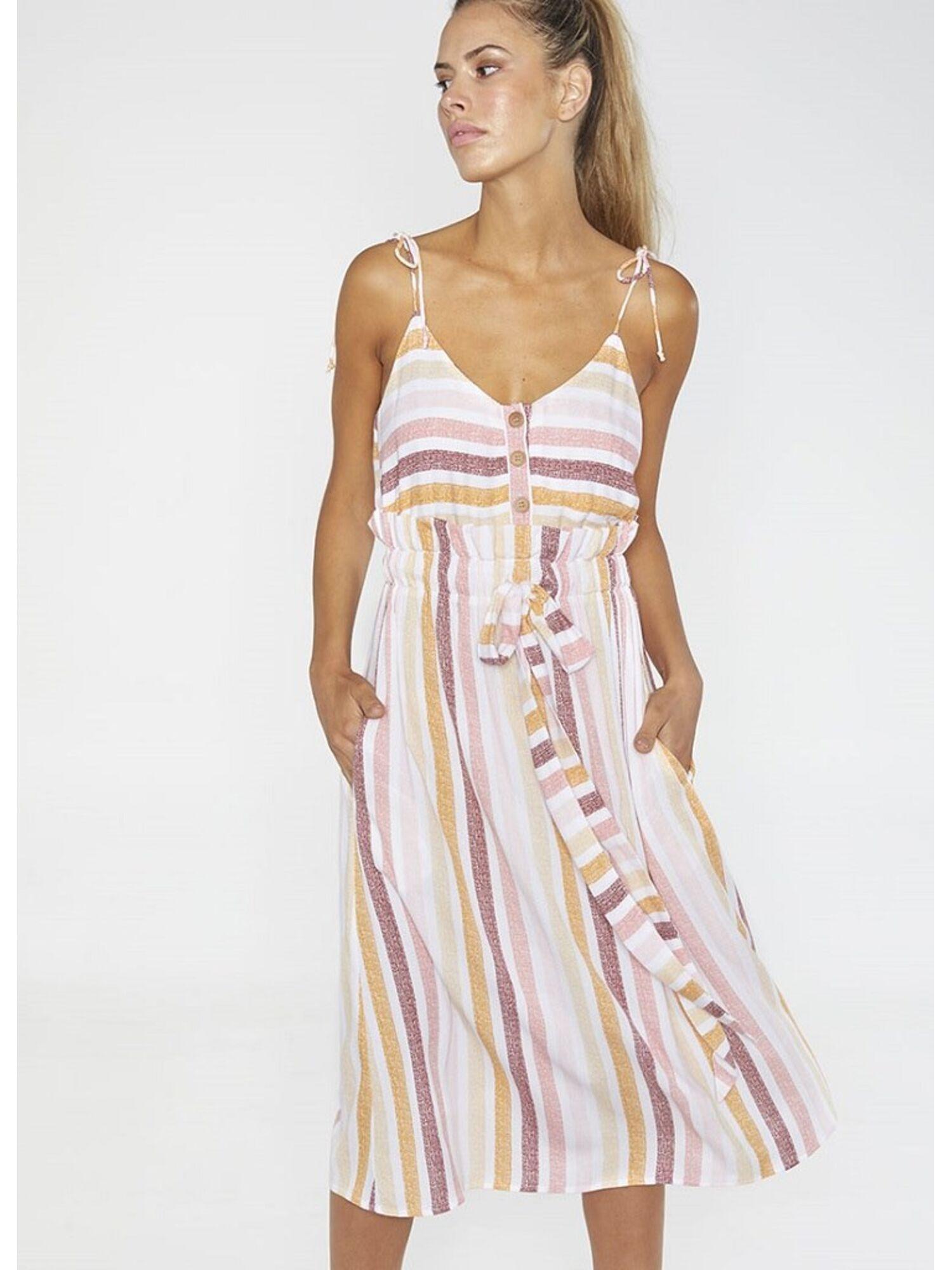 Женское платье пляжное из вискозы 85714 мульти, Ysabel Mora (Испания)
