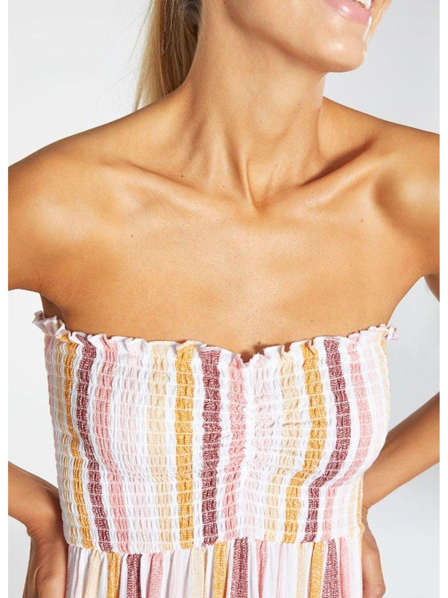 Женское платье пляжное из вискозы 85711 мульти, Ysabel Mora (Испания)