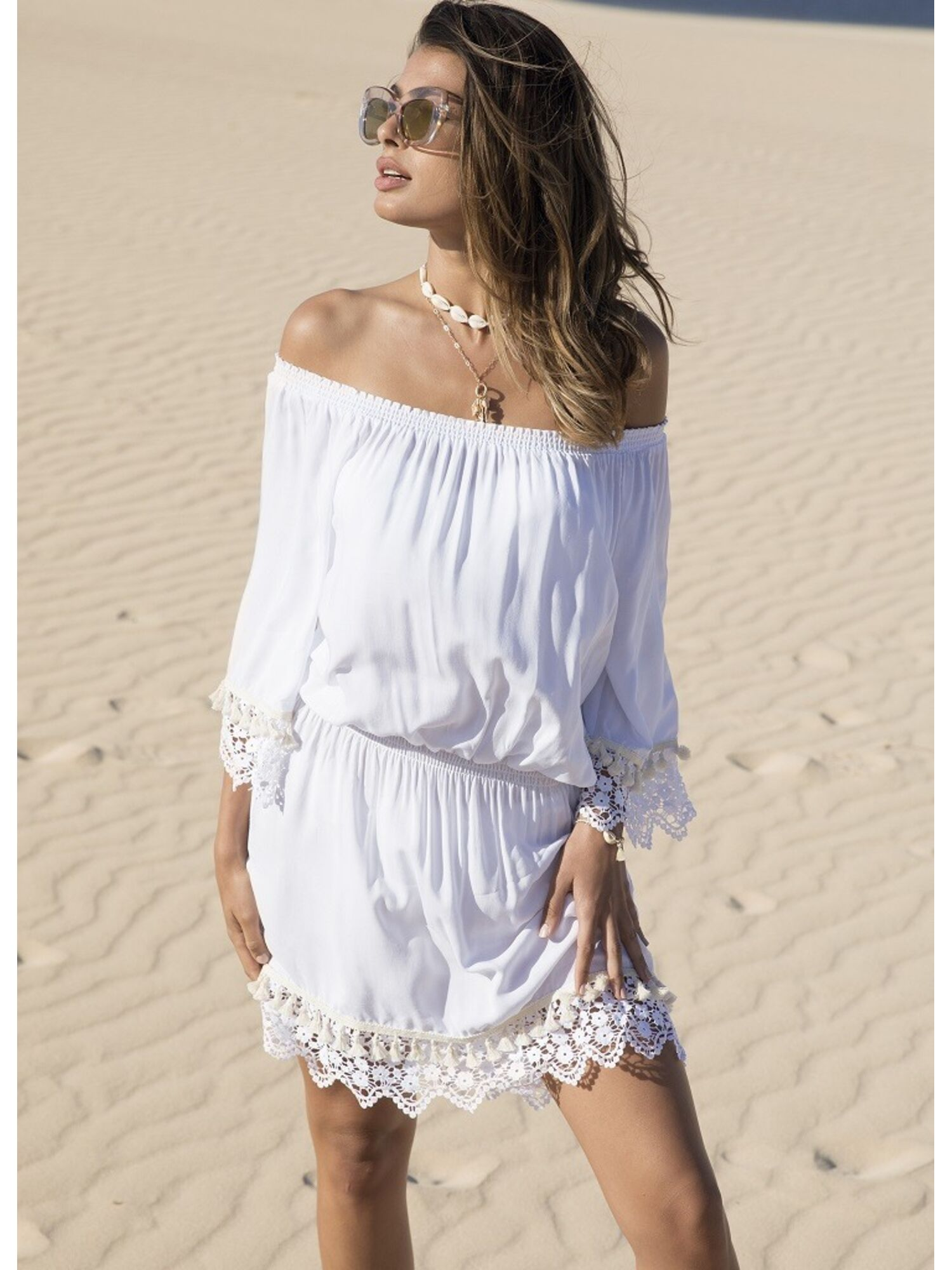 Женское пляжное платье из вискозы 85583, Ysabel Mora (Испания)